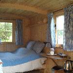 Inside the Shephard's Hut