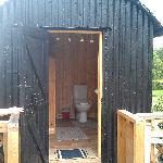 Bathroom to the Shephard's Hut