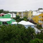 Colours of Bermuda from our balcony