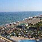 Blick von der Marbellaseite von Zimmer 622