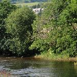 Great views of the River Nore - where people like to fish