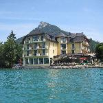 Hotel Seerose from lake
