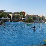 The main pool at Sun down