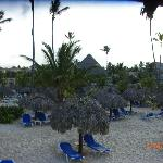 huts on beach- only BEHIND the signs are ambar only- other wise kids and other resorts allowed-