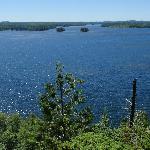 Birch Lake from Thunder Island