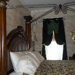 Castle Room with canopy bed frame
