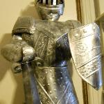 Yes, that's a suit of armor in the room!
