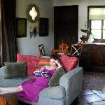 Meirav in the casa front