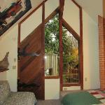 Chalet bedroom loft
