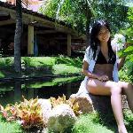 garden and lake
