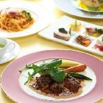 dinner course at Italian restaurant Quomo