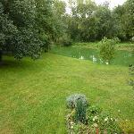 Le jardin au bord de la Mayenne