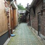 The alley to Sophia Guest House
