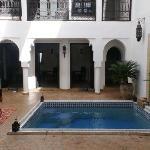 patio e piscina