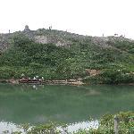 池の端からの風景
