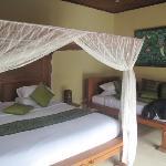 La literie hyper conforable (king size bed)
