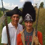 At redoubt #9 - costuming optional!!
