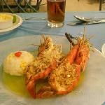 Piqua, tasty, fresh water shrimp