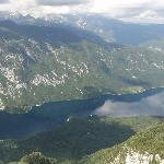 Lake Bohinj from the Vogel cable car