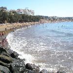 La playa cerquita y muy buena