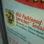 Andy's serves Sprecher Root Beer