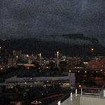 Veduta dal terrazzo della Table Mountain