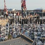 View from apartment 320 over harbour