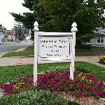 THE PINE BUSH HOUSE SIGN