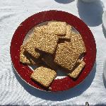 Tennis biscuits for morning coffee