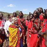 Our new Masai friends