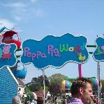 Entry to Peppa Pig World