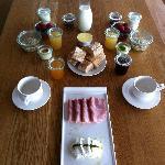 ausgezeichnetes Frühstück