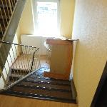 Clogged stairwells