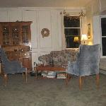 One of the sitting areas in the Living Room
