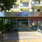 ambassador playa 1 entrance