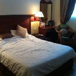 Clean but musty bedroom (room 108)
