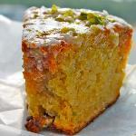 Gummy Pistachio Coffeecake