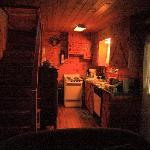 Kitchen of the Moonshine Cabin