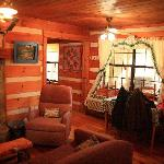 Moonshine Cabin main room