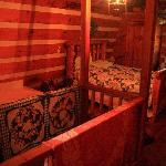 Moonshine Cabin upstairs bedroom