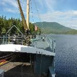 Sailing through the Broken Islands