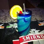 blue hawian