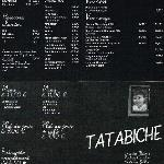découvrez le menu à découvrir