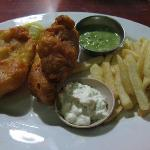 Very good fish & chips!