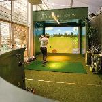 The indoor golf simulator