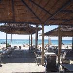 Restaurant de plage & plage