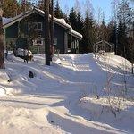 Vesan Villa in winter
