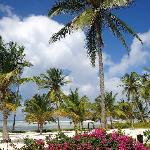Blick von der Terrasse der Beachfront Villa
