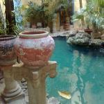 Cenote-like pool