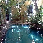 Cenote-like pool